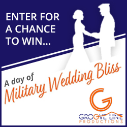 Enter to Win a FREE Military Wedding
