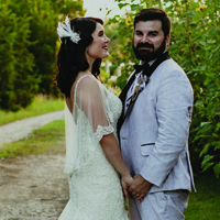 Alysia & Antonio in their Real Wedding in the Texas Wedding Guide