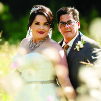 Jesi & Joseph in their Real Wedding in the Texas Wedding Guide