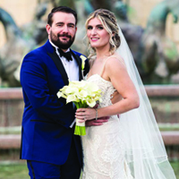 Victoria & Cody in their Real Wedding in the Texas Wedding Guide