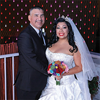 Cassandra & Mike in their Real Wedding in the Texas Wedding Guide