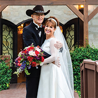 Jennifer & Ralph in their Real Wedding in the Texas Wedding Guide
