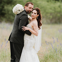Virginia & Alex in their Real Wedding in the Texas Wedding Guide