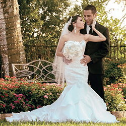 Aurelia & Joseph in their Real Wedding in the Texas Wedding Guide