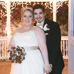 Briana & Aaron in their Real Wedding in the Texas Wedding Guide