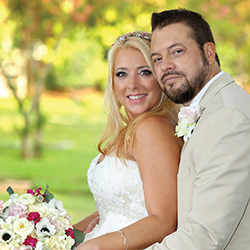 Christina & Michael in their Real Wedding in the Texas Wedding Guide