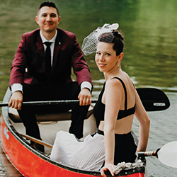 Delaney & Eddie in their Real Wedding in the Texas Wedding Guide