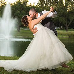 Jayme & Matt in their Real Wedding in the Texas Wedding Guide