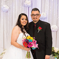 Jessica & Eddie in their Real Wedding in the Texas Wedding Guide