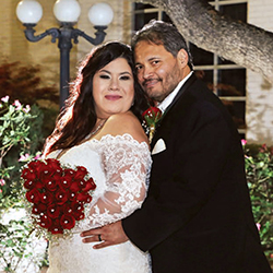 Lisa Marie & Galeot in their Real Wedding in the Texas Wedding Guide