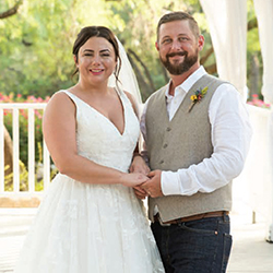 Samantha & Nick in their Real Wedding in the Texas Wedding Guide
