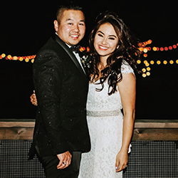 Tiffany & Phillip in their Real Wedding in the Texas Wedding Guide